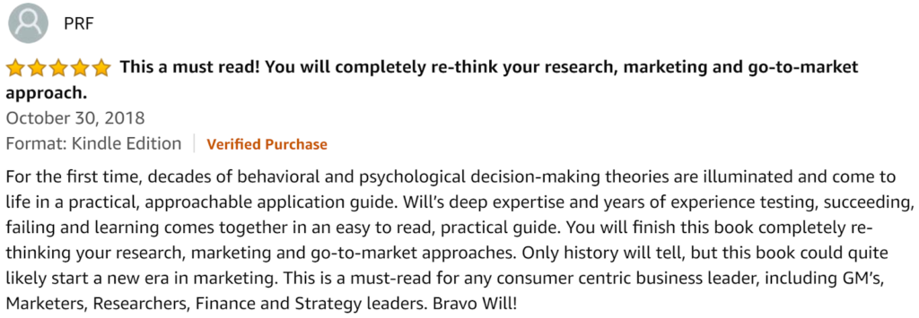 Marketing to Mindstates Review
