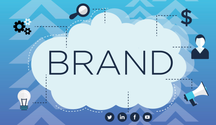 brand in cloud illustration