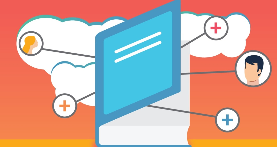 blue book on a white cloud introduction image